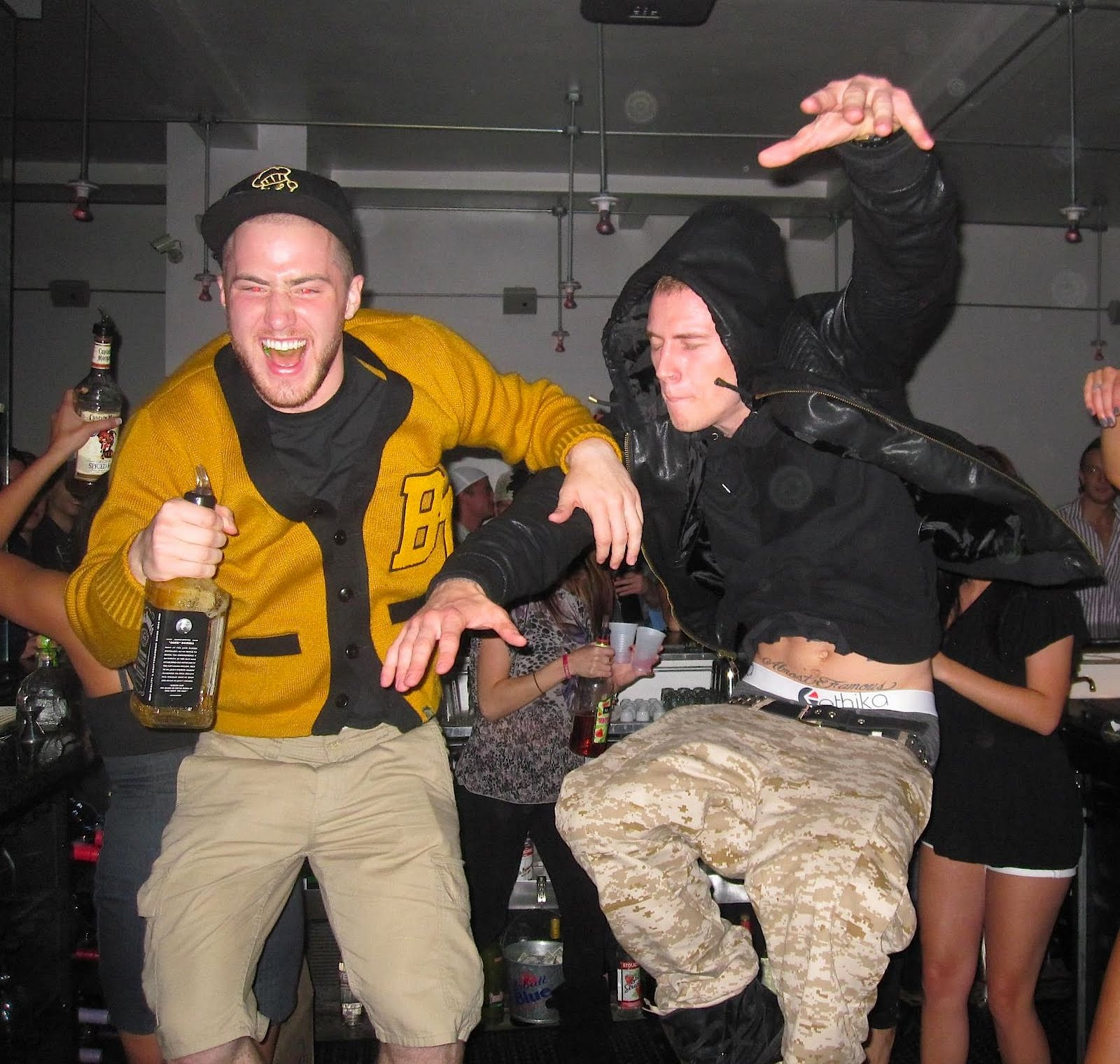 White Boy Mike and DJ The Boy Something To Dance To