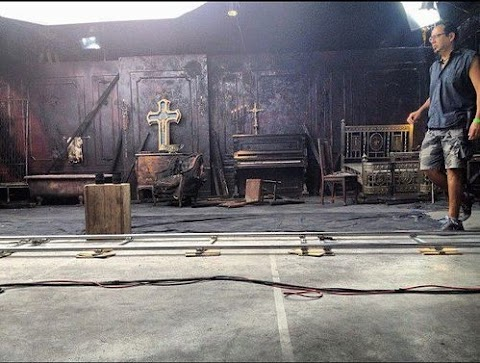 prima foto dal set del nuovo video di madonna: love spent o gang bang?