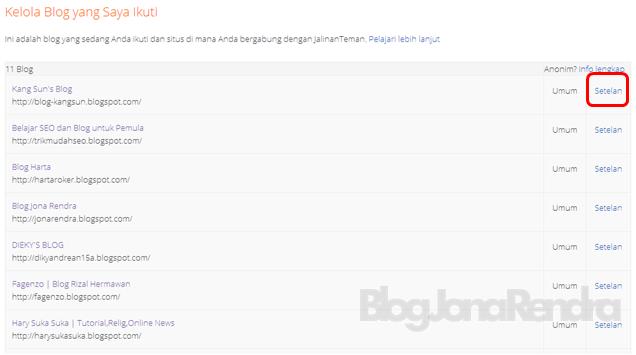Daftar web/blog yang saya ikuti jonarendra
