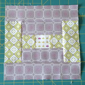 sew the remaining Fabric two rectangles