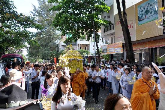 Cung tiễn Trà tỳ Kim Quan Cố HT - Thích Giác Dũng - voluongcongduc.com -26