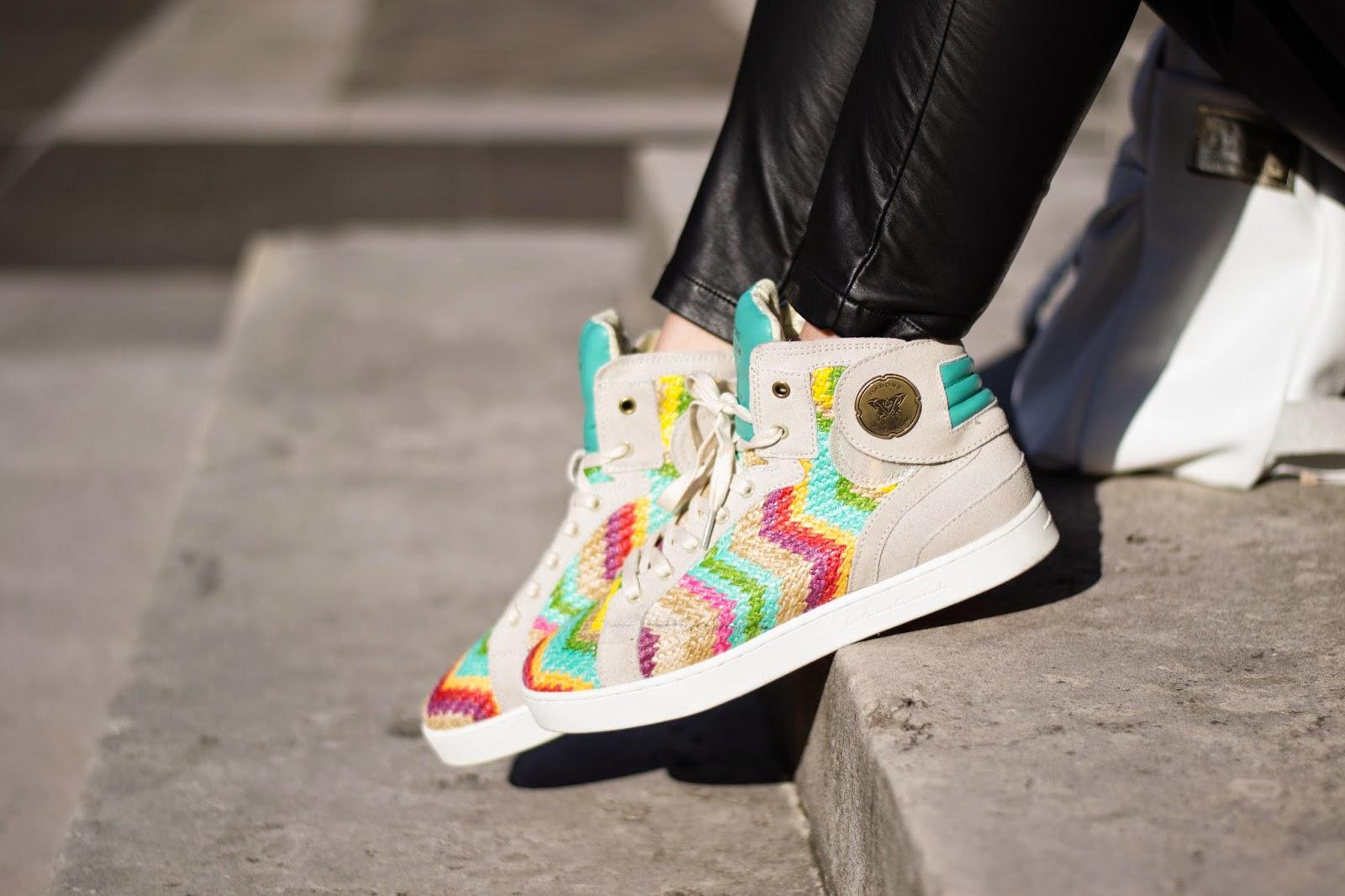 Barons papillom sneakers