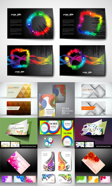 Business Cards Templates Set 116
