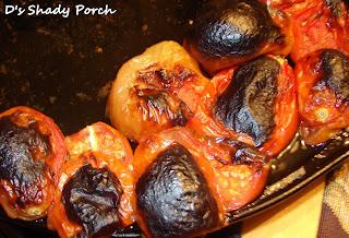 Roasted Tomato-Jalapeño Salsa #recipe #salsa #roasted #tomato #jalapeno