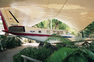 Royal Flying Doctor Service of Australia Cairns Museum Beechcraft Queen Air