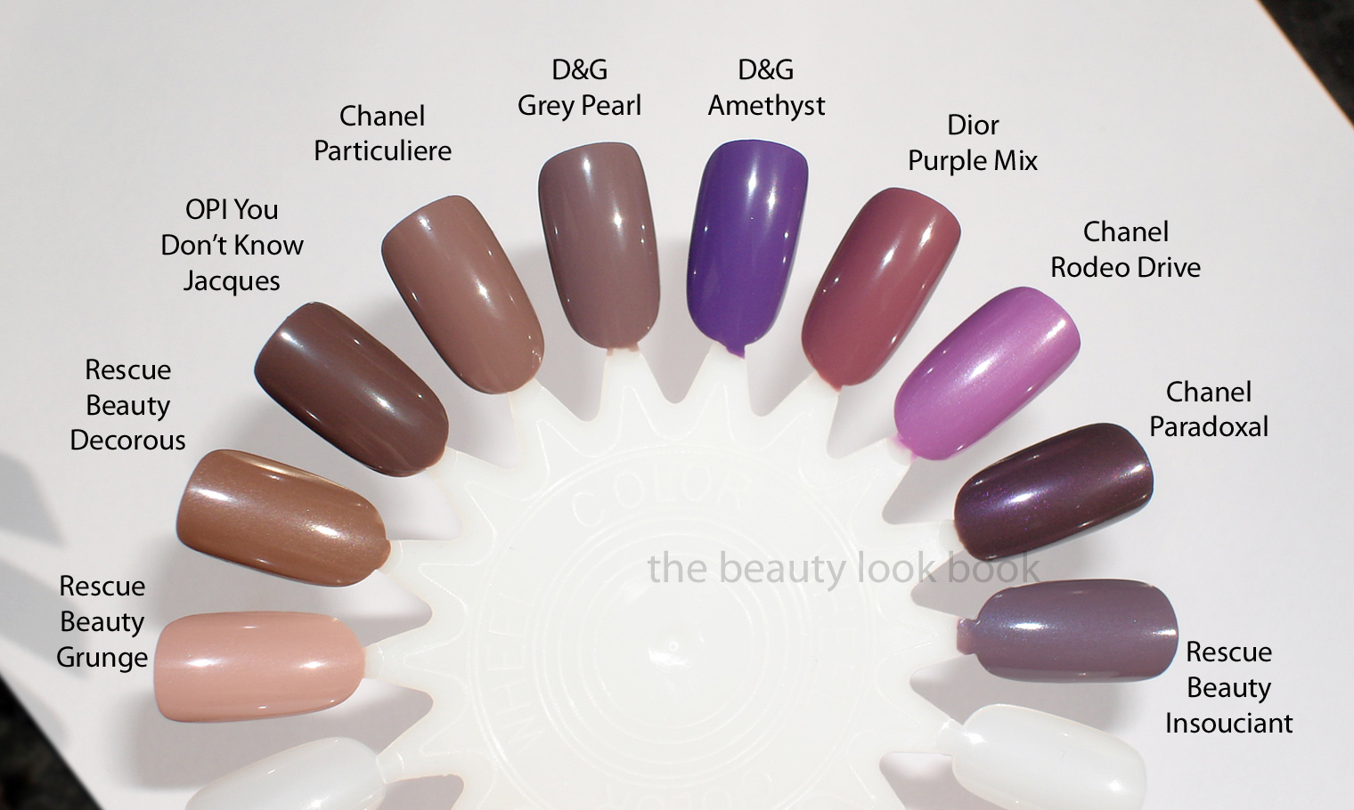 Dolce & Gabbana Grey Pearl and Amethyst Nail Lacquer Comparisons ...