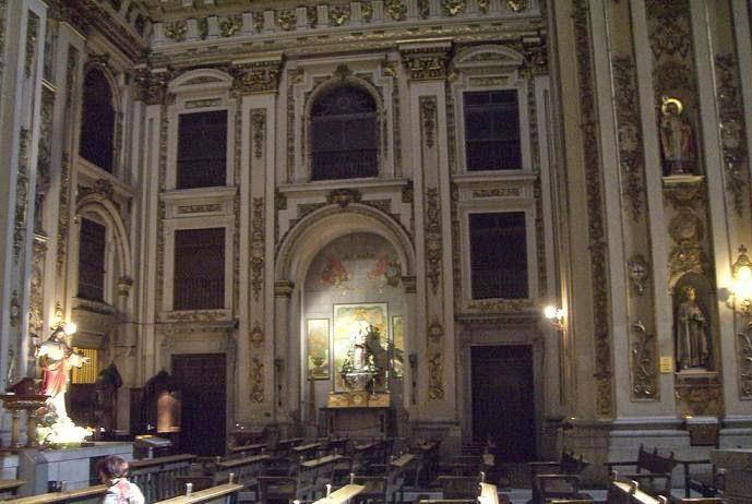 Algargos arte e historia la arquitectura barroca del for Ministerio del interior san isidro