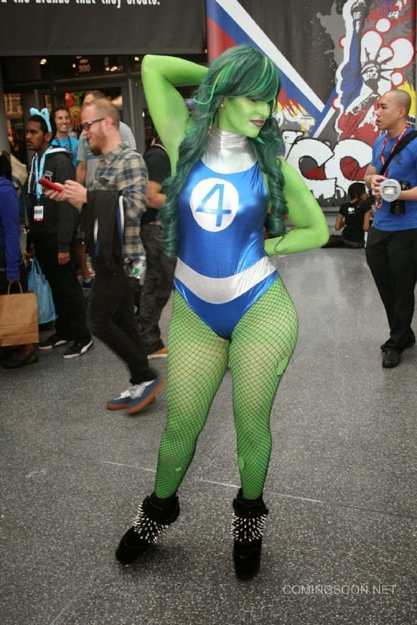 Hulka Sexy Cosplay de la New York Comic Con 2013