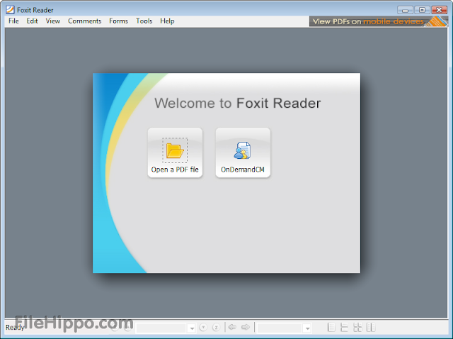Free Download Foxit Reader 5.4.4.1023 Final