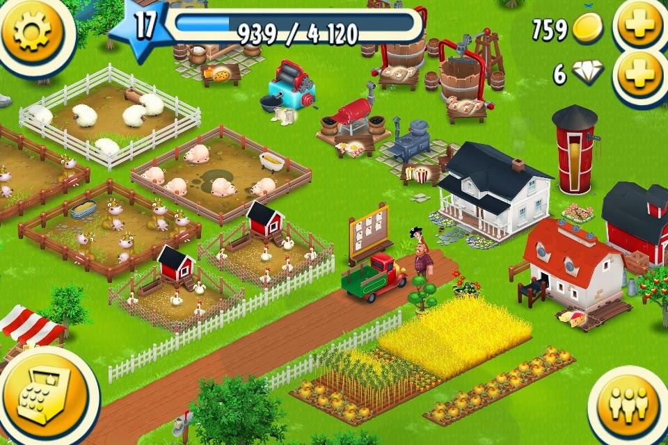 Hay Day, uno de los juegos más descargados