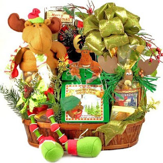 Merry Chris-Moose - Christmas Holiday Gourmet Food Gift Basket