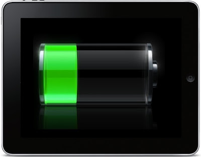 10 steps to increase iPad's Battery Life