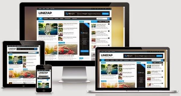 Linezap Responsive Blogger Template Free Download