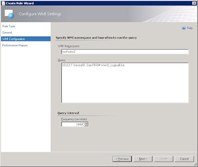 WMI Namespace: root\cimv2 | Query: SELECT DeviceID, Size FROM Win32_Logicalisk