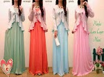 Maxi Jersey Cardi Brukat SOLD OUT