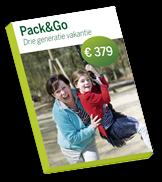 www.centerparcs.nl/zinaanbieding Pack & Go Drie generatie vakantie, voor Zin-lezers: € 359 voor 6 personen!