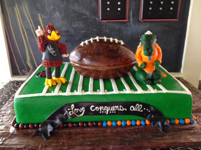Sweet Ts Cake Design South Carolina Gamecock Groom And University