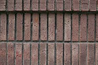 Brown painted bricks texture package