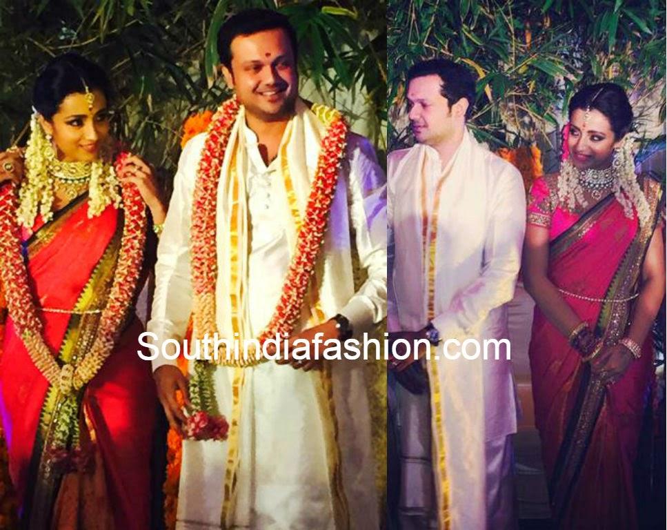 trisha krishnan varun manian engagement pics