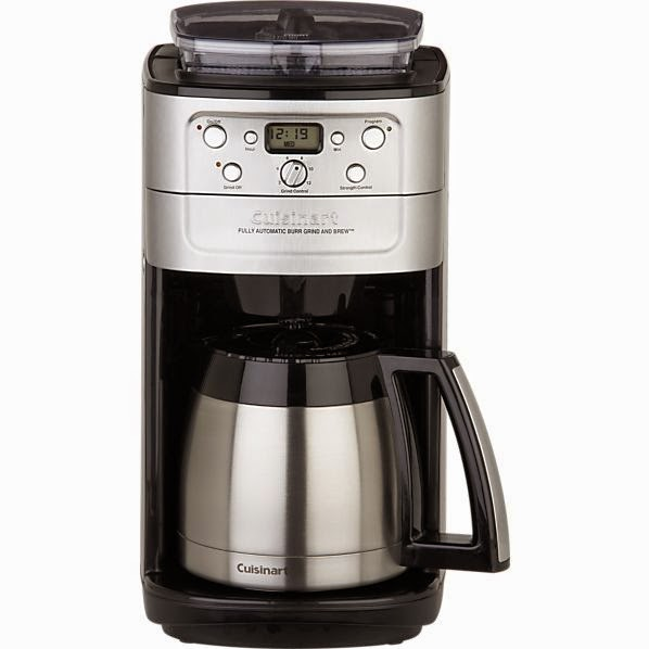 Cuisinart Automatic Grind & Brew Thermal 12 Cup Programmable Coffee Maker