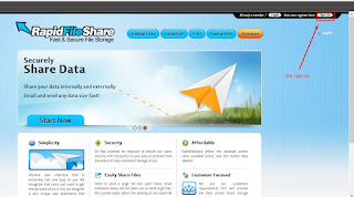 Cara Download di Rapidfileshare Unlimited