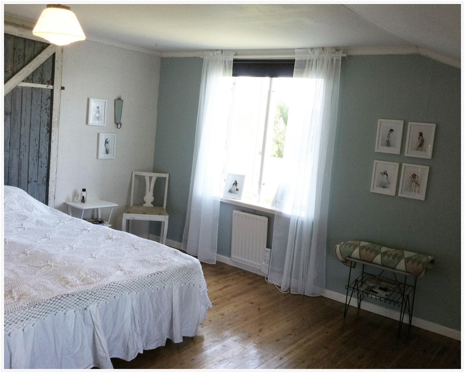 Bygdegården: jag renoverade och stylade torpets sovrum i helgen