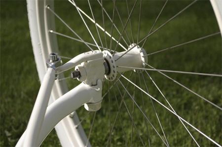 Ini dia sistem yang terletak di roda depan agar sepeda bisa berbelok.