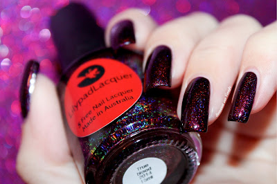 """Swatch of """"True Blood 2014"""" from Lilypad Lacquer"""