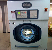 Union Nova dry cleaning machine using Streets detergent