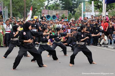 malioboro pencak festival pesilat wanita