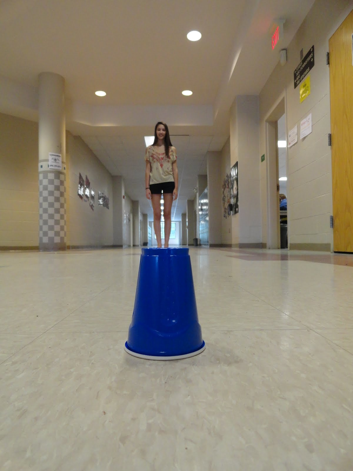 Art Of Apex High School Forced Perspective Photography