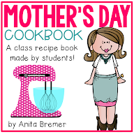 MOTHER'S DAY EDITABLE COOKBOOK