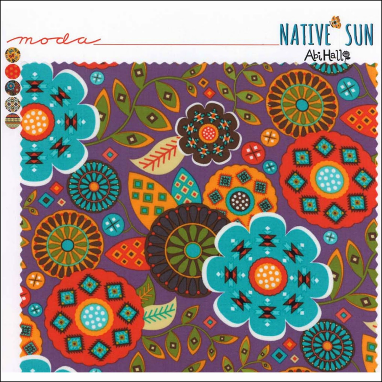 Moda NATIVE SUN Quilt Fabric by Abi Hall for Moda Fabrics