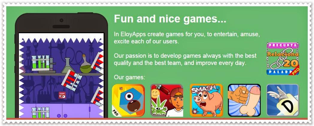Tienda de aplicaciones para móviles Android de Eloy Palao