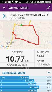 Kamis Bersabda dan Rutenya, GPS Perjalanan Onthel Madura
