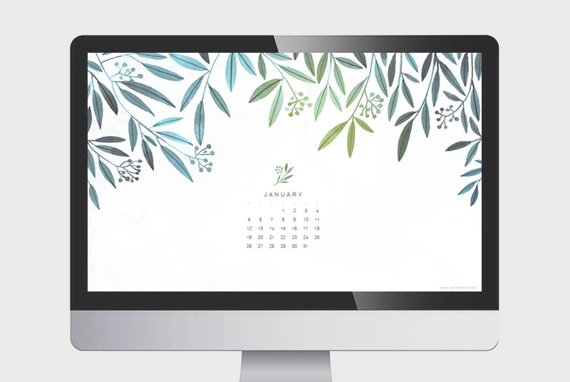 january-calendar Oana Befort