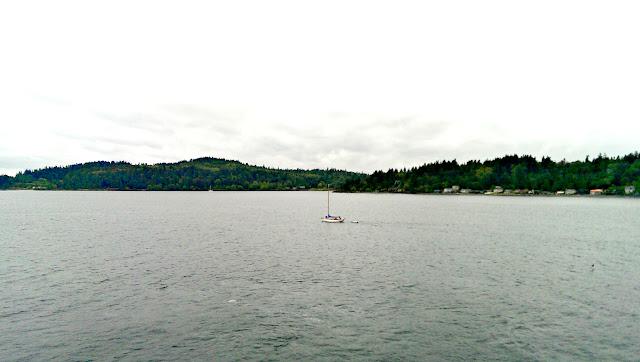 Bainbridge Island and Puget Sound, Seattle