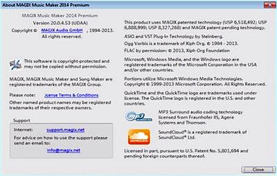 MAGIX Music Maker 2014 Premium v20.0.4.53 ISO