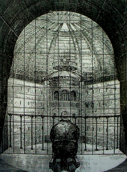 foucault and the panopticon In his hugely influential book discipline and punish, foucault used the example  of jeremy bentham's panopticon prison as a means of representing the.