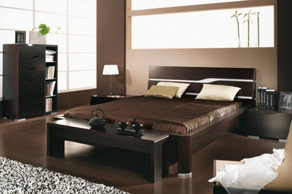 Dormitorios en color chocolate dormitorios colores y estilos - Color paredes habitacion ...