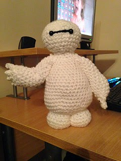 2000 Free Amigurumi Patterns: Baymax crochet pattern