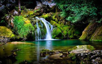 Keindahan Alam Di Air Terjun