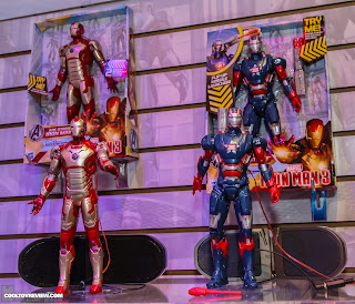 "Hasbro 2013 Toy Fair Display Pictures - Iron Man 3 - 10"" Electronic Figures"