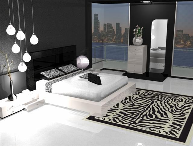 blog jardin maison une d co moderne en noir et blanc. Black Bedroom Furniture Sets. Home Design Ideas