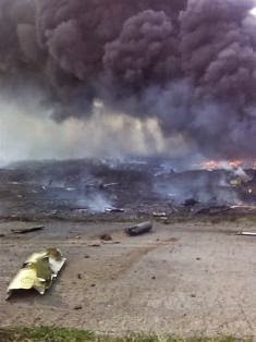 Amateur footage, believed to have been recorded on a cellphone, shows how the Malaysian MH17 airliner came this close to hitting a village when it was shot down last July. […]