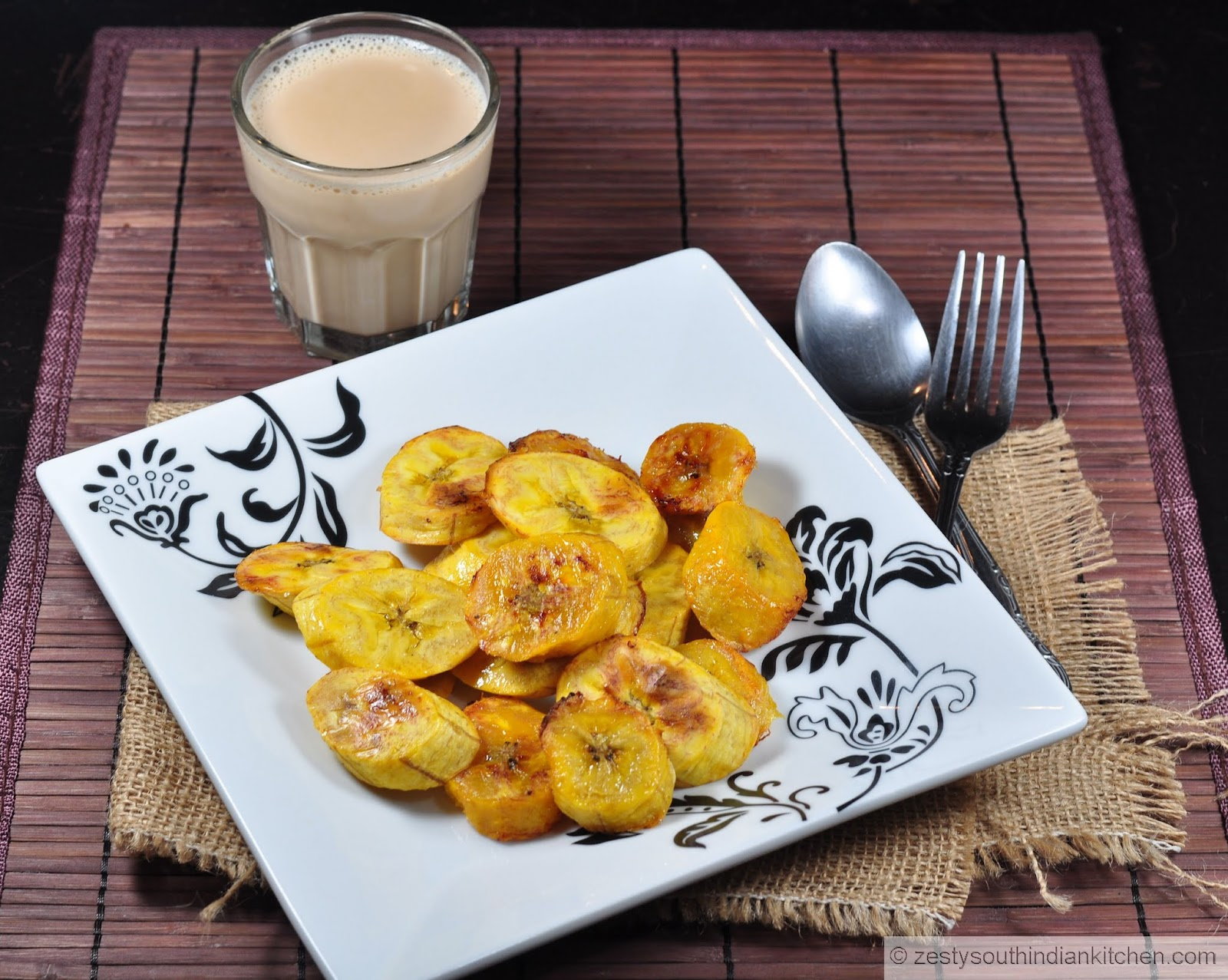 Baked Sweet Plantains/ Al horno Maduros - Zesty South ...