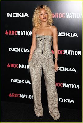>Lifestyle // Rihanna Au Roc Nation Pre-Grammy Brunch