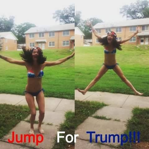 Jump for Trump!