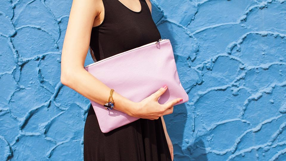 Popbasic Paloma Clutch Lilac - Hello, Handbag