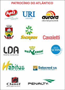 Patrocinadores do Atlântico